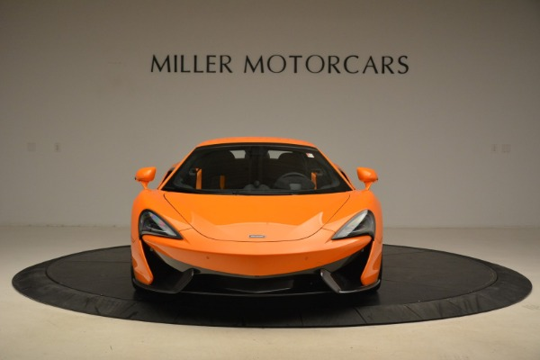 Used 2018 McLaren 570S Spider Convertible for sale Sold at Alfa Romeo of Greenwich in Greenwich CT 06830 22