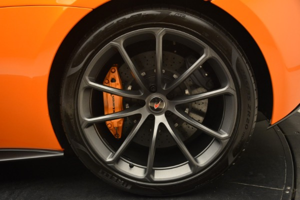 Used 2018 McLaren 570S Spider Convertible for sale Sold at Alfa Romeo of Greenwich in Greenwich CT 06830 24