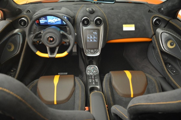 Used 2018 McLaren 570S Spider Convertible for sale Sold at Alfa Romeo of Greenwich in Greenwich CT 06830 28