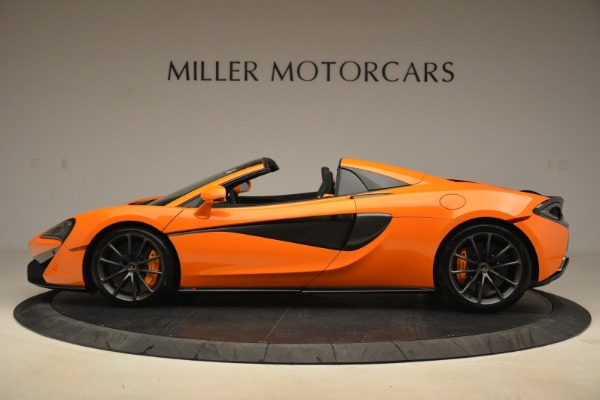Used 2018 McLaren 570S Spider Convertible for sale Sold at Alfa Romeo of Greenwich in Greenwich CT 06830 3