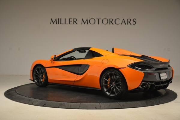 Used 2018 McLaren 570S Spider Convertible for sale Sold at Alfa Romeo of Greenwich in Greenwich CT 06830 4