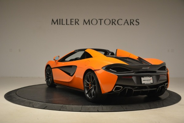 Used 2018 McLaren 570S Spider Convertible for sale Sold at Alfa Romeo of Greenwich in Greenwich CT 06830 5