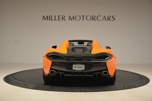 Used 2018 McLaren 570S Spider Convertible for sale Sold at Alfa Romeo of Greenwich in Greenwich CT 06830 6