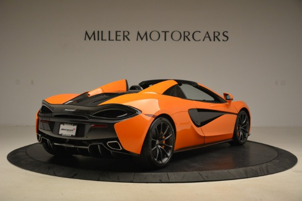 Used 2018 McLaren 570S Spider Convertible for sale Sold at Alfa Romeo of Greenwich in Greenwich CT 06830 7