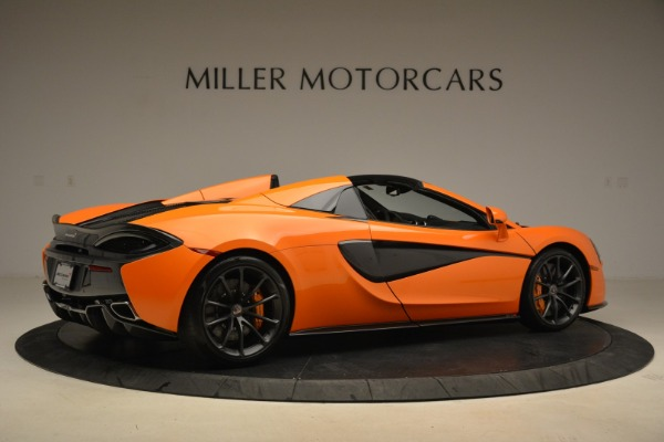 Used 2018 McLaren 570S Spider Convertible for sale Sold at Alfa Romeo of Greenwich in Greenwich CT 06830 8