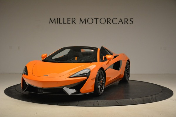 Used 2018 McLaren 570S Spider Convertible for sale Sold at Alfa Romeo of Greenwich in Greenwich CT 06830 1