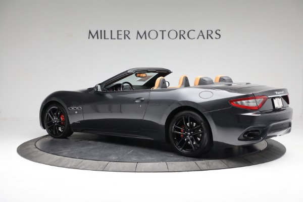 New 2018 Maserati GranTurismo Sport Convertible for sale Sold at Alfa Romeo of Greenwich in Greenwich CT 06830 9