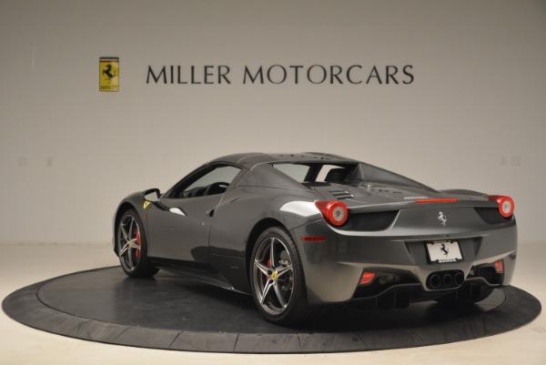 Used 2013 Ferrari 458 Spider for sale Sold at Alfa Romeo of Greenwich in Greenwich CT 06830 17