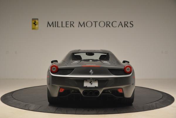 Used 2013 Ferrari 458 Spider for sale Sold at Alfa Romeo of Greenwich in Greenwich CT 06830 18