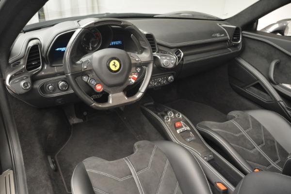 Used 2013 Ferrari 458 Spider for sale Sold at Alfa Romeo of Greenwich in Greenwich CT 06830 25