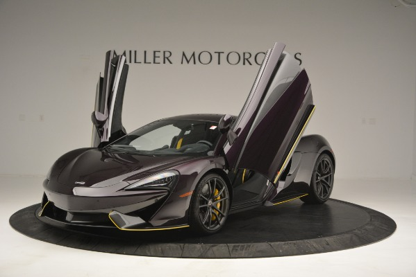 Used 2018 McLaren 570S for sale Sold at Alfa Romeo of Greenwich in Greenwich CT 06830 14