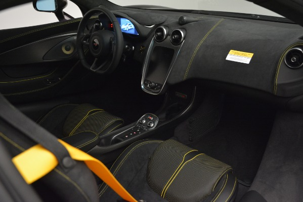 Used 2018 McLaren 570S for sale Sold at Alfa Romeo of Greenwich in Greenwich CT 06830 18