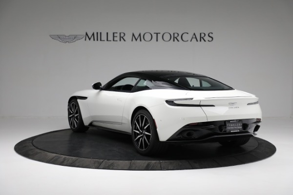 New 2018 Aston Martin DB11 V8 Coupe for sale Sold at Alfa Romeo of Greenwich in Greenwich CT 06830 4