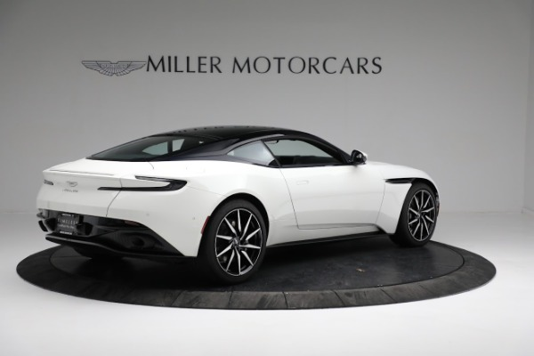 New 2018 Aston Martin DB11 V8 Coupe for sale Sold at Alfa Romeo of Greenwich in Greenwich CT 06830 7