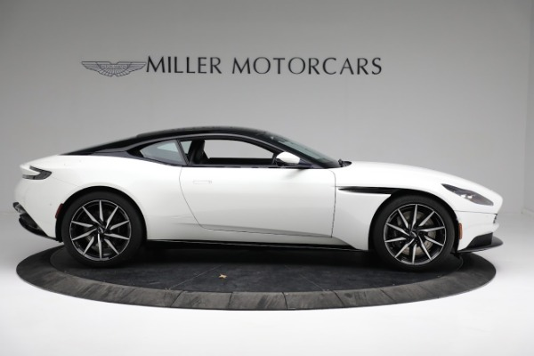 New 2018 Aston Martin DB11 V8 Coupe for sale Sold at Alfa Romeo of Greenwich in Greenwich CT 06830 8