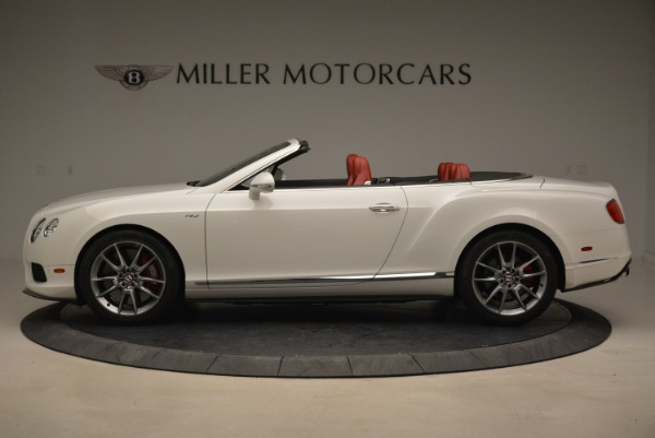 Used 2015 Bentley Continental GT V8 S for sale Sold at Alfa Romeo of Greenwich in Greenwich CT 06830 3
