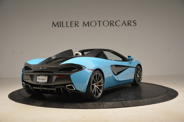 Used 2018 McLaren 570S Spider for sale Sold at Alfa Romeo of Greenwich in Greenwich CT 06830 7