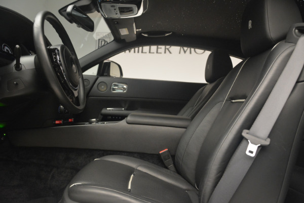 Used 2014 Rolls-Royce Wraith for sale Sold at Alfa Romeo of Greenwich in Greenwich CT 06830 18