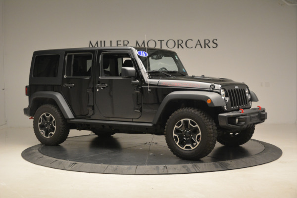 Used 2016 Jeep Wrangler Unlimited Rubicon for sale Sold at Alfa Romeo of Greenwich in Greenwich CT 06830 10
