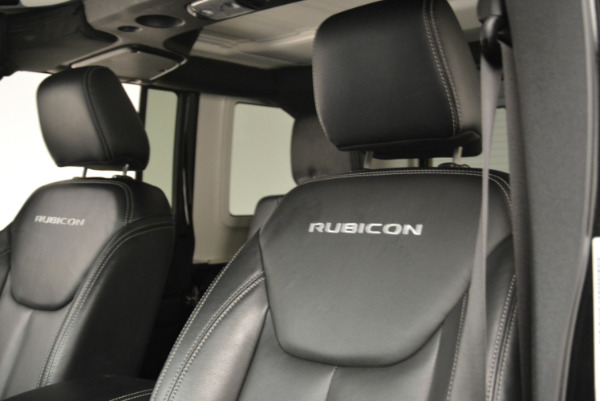 Used 2016 Jeep Wrangler Unlimited Rubicon for sale Sold at Alfa Romeo of Greenwich in Greenwich CT 06830 15