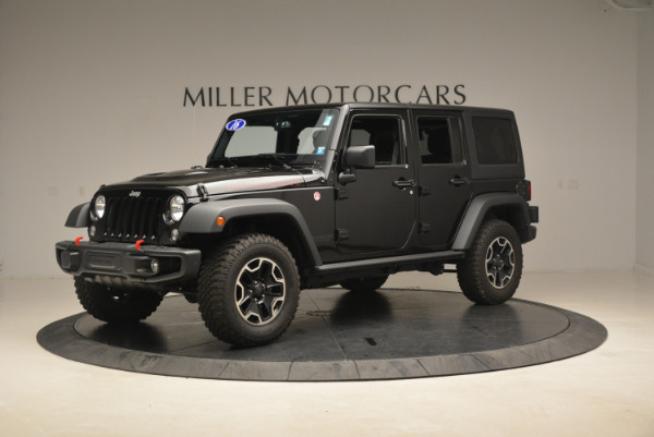 Used 2016 Jeep Wrangler Unlimited Rubicon for sale Sold at Alfa Romeo of Greenwich in Greenwich CT 06830 2