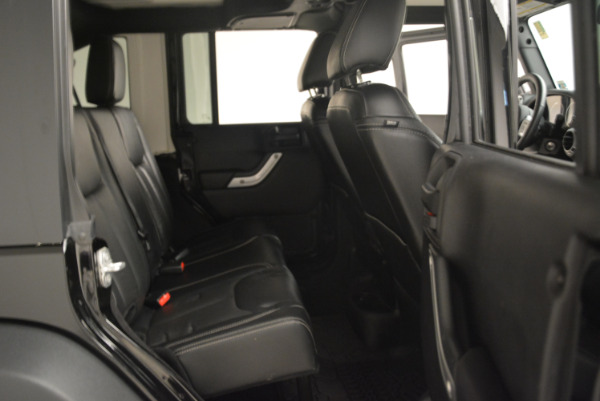 Used 2016 Jeep Wrangler Unlimited Rubicon for sale Sold at Alfa Romeo of Greenwich in Greenwich CT 06830 22