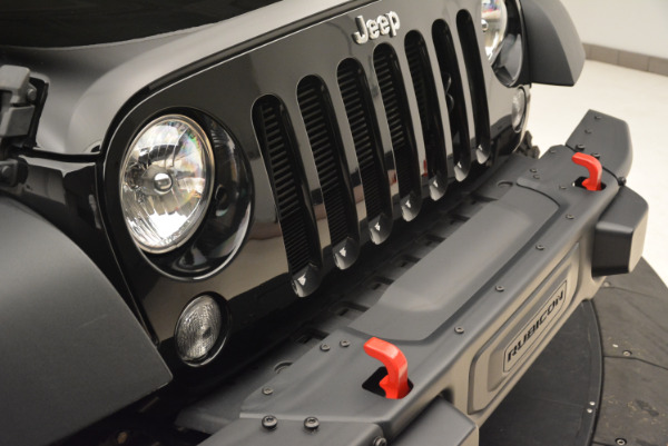Used 2016 Jeep Wrangler Unlimited Rubicon for sale Sold at Alfa Romeo of Greenwich in Greenwich CT 06830 23