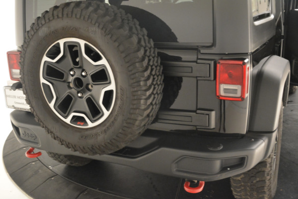 Used 2016 Jeep Wrangler Unlimited Rubicon for sale Sold at Alfa Romeo of Greenwich in Greenwich CT 06830 24