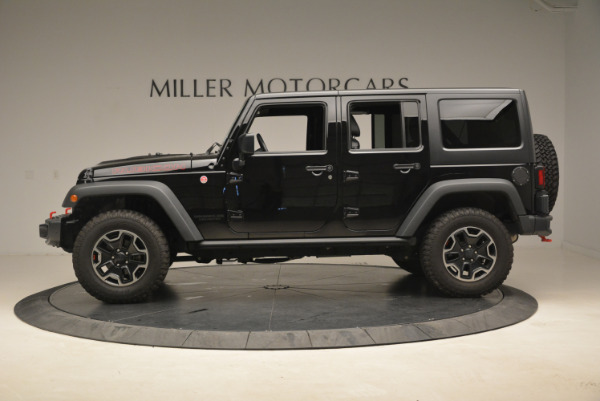 Used 2016 Jeep Wrangler Unlimited Rubicon for sale Sold at Alfa Romeo of Greenwich in Greenwich CT 06830 3