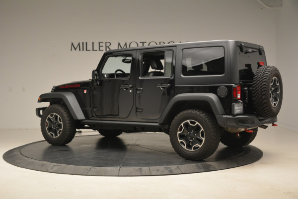 Used 2016 Jeep Wrangler Unlimited Rubicon for sale Sold at Alfa Romeo of Greenwich in Greenwich CT 06830 4