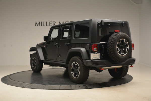 Used 2016 Jeep Wrangler Unlimited Rubicon for sale Sold at Alfa Romeo of Greenwich in Greenwich CT 06830 5