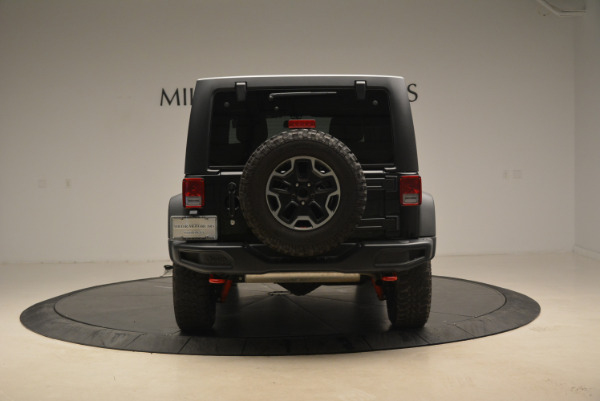 Used 2016 Jeep Wrangler Unlimited Rubicon for sale Sold at Alfa Romeo of Greenwich in Greenwich CT 06830 6