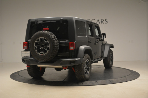 Used 2016 Jeep Wrangler Unlimited Rubicon for sale Sold at Alfa Romeo of Greenwich in Greenwich CT 06830 7