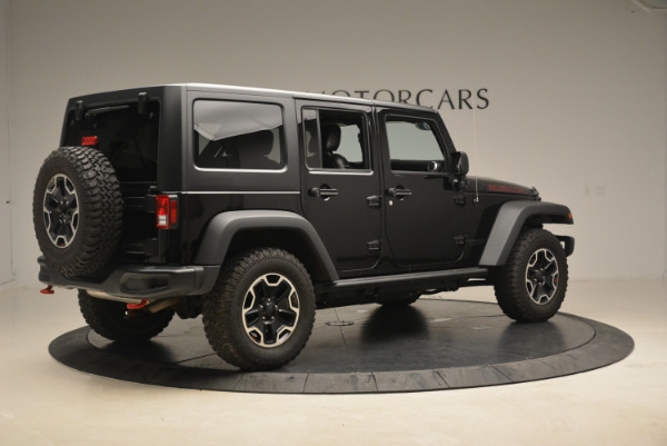Used 2016 Jeep Wrangler Unlimited Rubicon for sale Sold at Alfa Romeo of Greenwich in Greenwich CT 06830 8