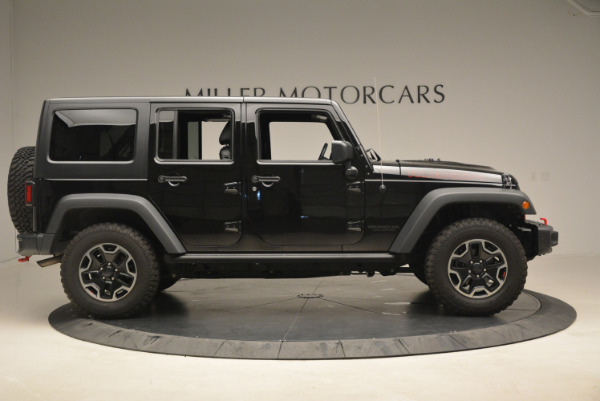 Used 2016 Jeep Wrangler Unlimited Rubicon for sale Sold at Alfa Romeo of Greenwich in Greenwich CT 06830 9