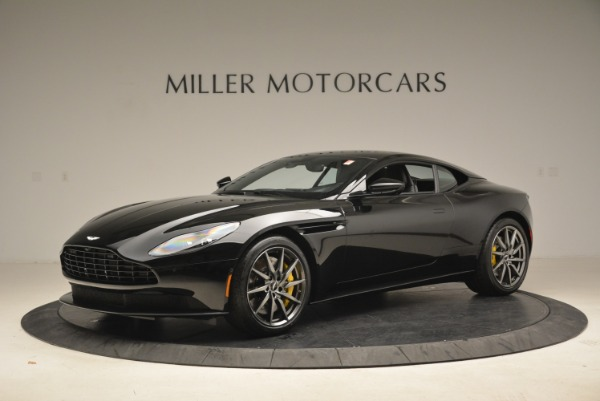 Used 2018 Aston Martin DB11 V8 Coupe for sale $149,990 at Alfa Romeo of Greenwich in Greenwich CT 06830 1
