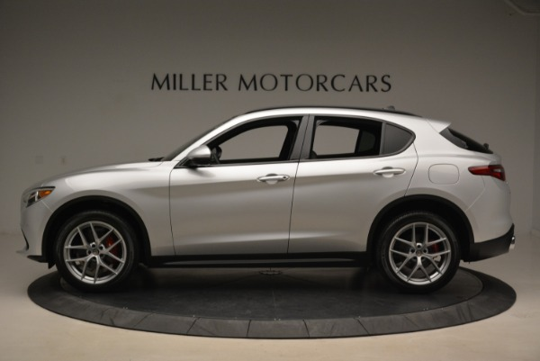 New 2018 Alfa Romeo Stelvio Ti Sport Q4 for sale Sold at Alfa Romeo of Greenwich in Greenwich CT 06830 3