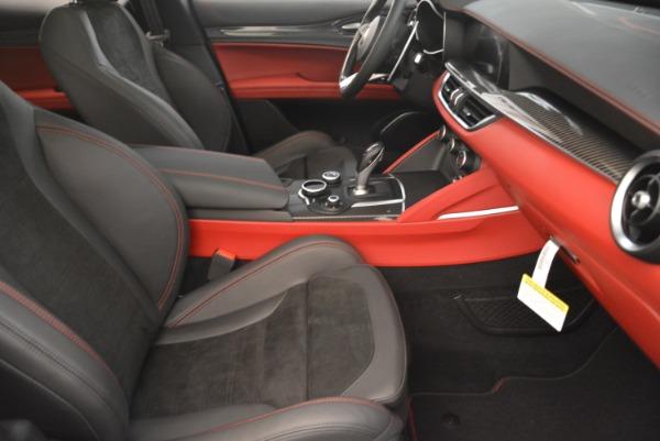 New 2018 Alfa Romeo Stelvio Quadrifoglio for sale Sold at Alfa Romeo of Greenwich in Greenwich CT 06830 21