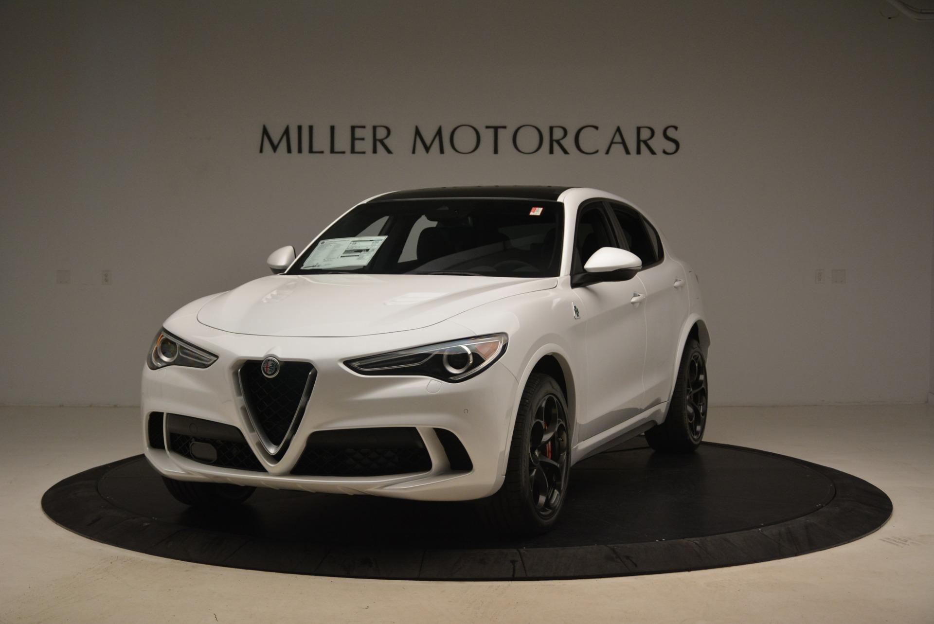 New 2018 Alfa Romeo Stelvio Quadrifoglio for sale Sold at Alfa Romeo of Greenwich in Greenwich CT 06830 1