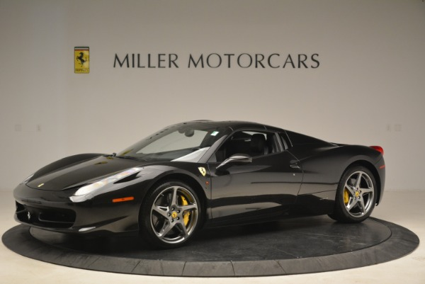 Used 2013 Ferrari 458 Spider for sale Sold at Alfa Romeo of Greenwich in Greenwich CT 06830 14