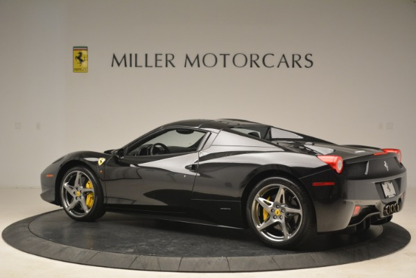 Used 2013 Ferrari 458 Spider for sale Sold at Alfa Romeo of Greenwich in Greenwich CT 06830 16