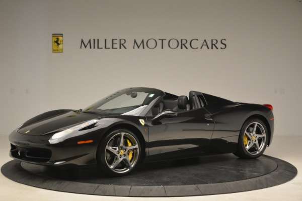 Used 2013 Ferrari 458 Spider for sale Sold at Alfa Romeo of Greenwich in Greenwich CT 06830 2