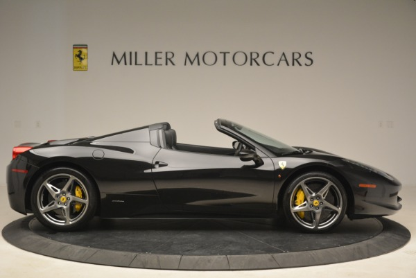 Used 2013 Ferrari 458 Spider for sale Sold at Alfa Romeo of Greenwich in Greenwich CT 06830 9