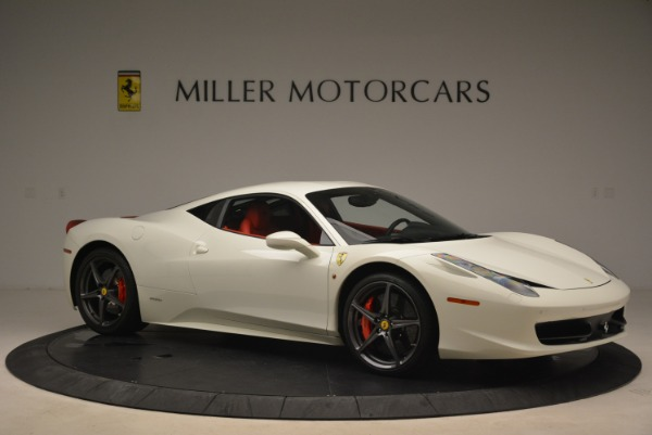 Used 2014 Ferrari 458 Italia for sale Sold at Alfa Romeo of Greenwich in Greenwich CT 06830 10