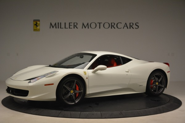 Used 2014 Ferrari 458 Italia for sale Sold at Alfa Romeo of Greenwich in Greenwich CT 06830 2
