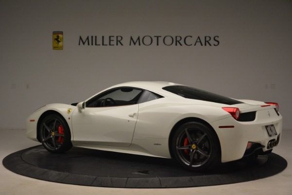Used 2014 Ferrari 458 Italia for sale Sold at Alfa Romeo of Greenwich in Greenwich CT 06830 4