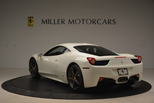 Used 2014 Ferrari 458 Italia for sale Sold at Alfa Romeo of Greenwich in Greenwich CT 06830 5