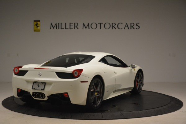 Used 2014 Ferrari 458 Italia for sale Sold at Alfa Romeo of Greenwich in Greenwich CT 06830 7