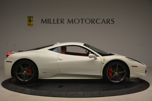 Used 2014 Ferrari 458 Italia for sale Sold at Alfa Romeo of Greenwich in Greenwich CT 06830 9