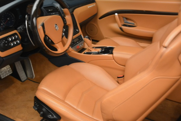 Used 2014 Maserati GranTurismo Sport for sale Sold at Alfa Romeo of Greenwich in Greenwich CT 06830 24